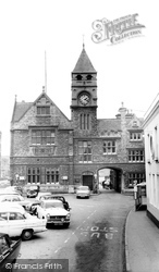 Calne, The Town Hall c.1965