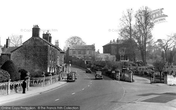 Photo of Calne, The Woodlands And New Road c.1955