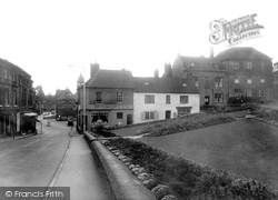 Calne, Town Gardens And High Street c.1955