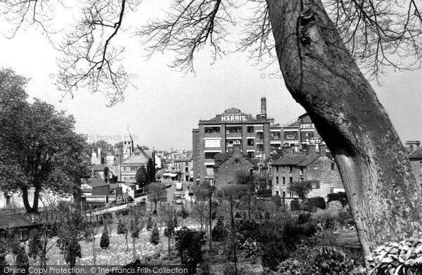 Photo of Calne, View From The Woodlands c.1955