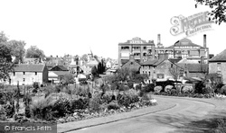 Calne, View From The Woodlands c.1955