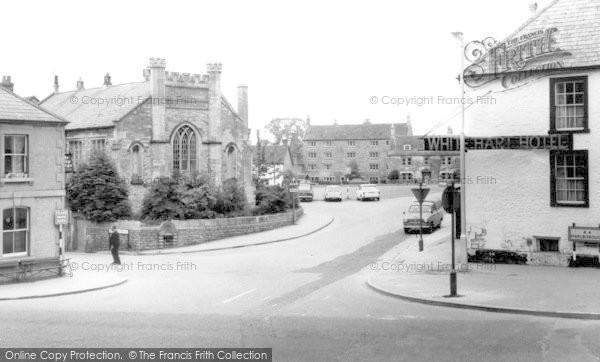 Photo of Calne, White Hart Hotel c.1970