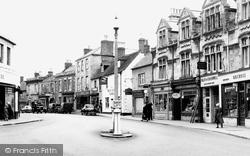 Calne, Wood Street c.1950