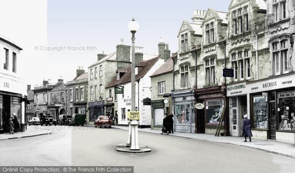 Photo of Calne, Wood Street c1950