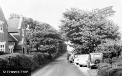 Calshot, Road To The Beach c.1955