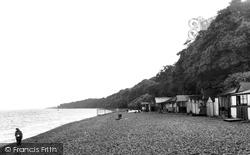 Calshot, The Beach c.1955
