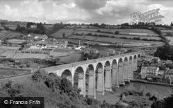 The Viaduct c.1960, Calstock