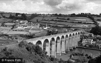 Calstock, the Viaduct c1960