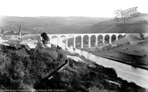 Calstock, Viaduct 1907