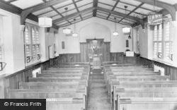 Cliff College Chapel c.1960, Calver
