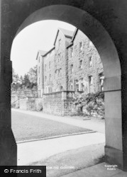 Cliff College From The Cloisters c.1950, Calver