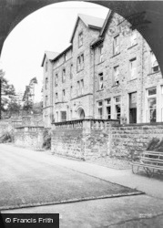 Cliff College, From The Cloisters c.1960, Calver