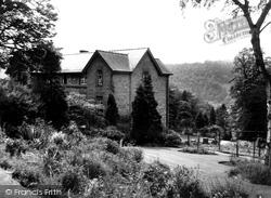 Cliff College, Rose Garden c.1960, Calver