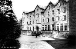 Croquet, Cliff College c.1960, Calver