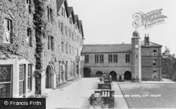 Terrace And Chapel, Cliff College c.1950, Calver