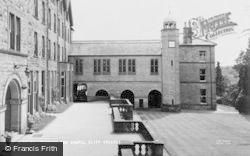 Terrace And Chapel, Cliff College c.1960, Calver