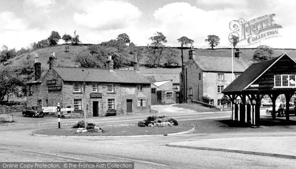 Photo of Calver, The Village c.1960