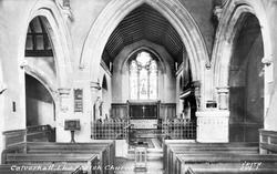 Parish Church Interior c.1955, Calverhall