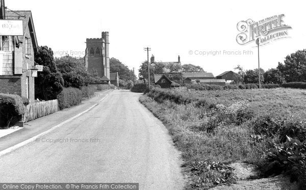 Calverhall, the Village c1955