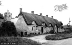 Calverton, Manor Cottages c.1955