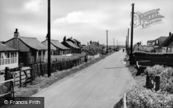 Lydd Road c.1960, Camber