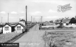 Camber, Lydd Road c.1960