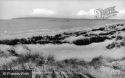 Rye Harbour From The Dunes c.1955, Camber