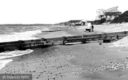 Camber, The Beach c.1960