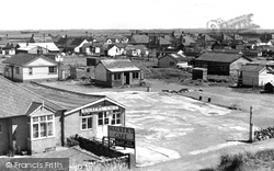 Camber, The Bungalows c.1955