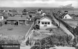 The Bungalows, Dukes Avenue c.1955, Camber