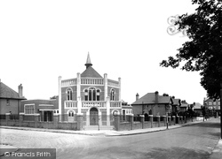 Camberley, Congregational Church, Southwell Park Road 1931