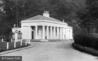 Camberley, Entrance to the Royal Military Academy c1950