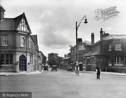 Camberley, Frimley Road 1931