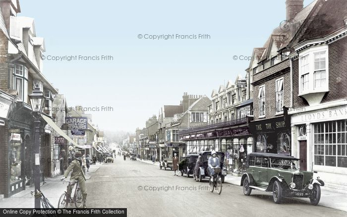 Photo of Camberley, High Street 1925