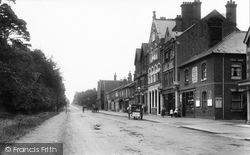 London Road 1901, Camberley