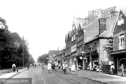 London Road 1909, Camberley