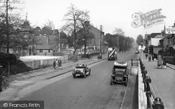 Camberley, London Road 1928