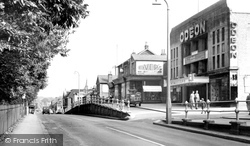 London Road And Odeon Cinema c.1955, Camberley