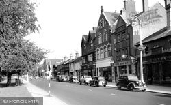 London Road c.1955, Camberley