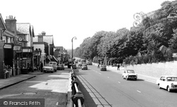 London Road c.1965, Camberley