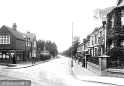 Lower Gordon Road 1909, Camberley