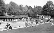 Camberley, the Blue Pool c1960
