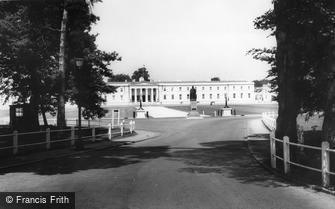 Camberley, the Royal Military Academy c1965