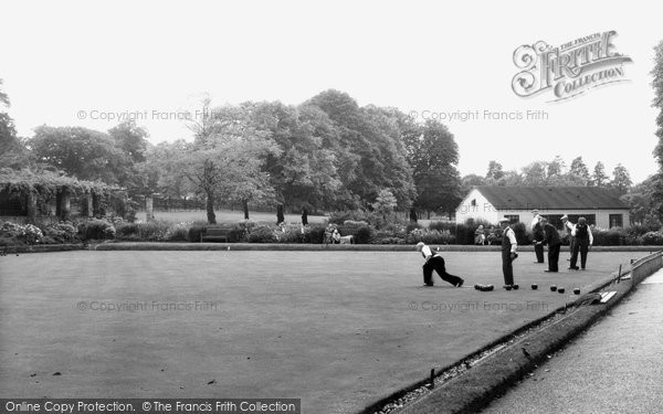 Camberwell, Bowling Green, Ruskin Park c1955