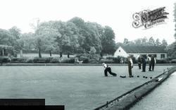 Bowling Green, Ruskin Park c.1955, Camberwell