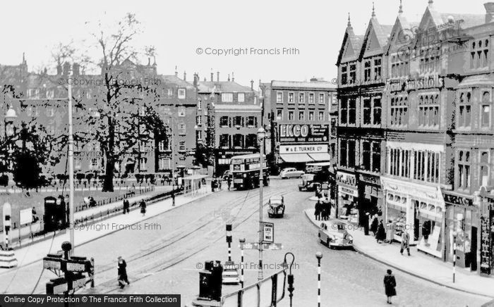Camberwell, Cross Roads c1955