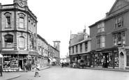 Camborne, Market Street 1922