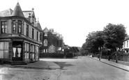 Camborne, Nursing Home and Basset Road 1925