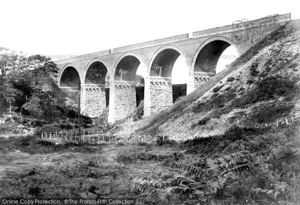 Camborne, Penponds Viaduct 1902