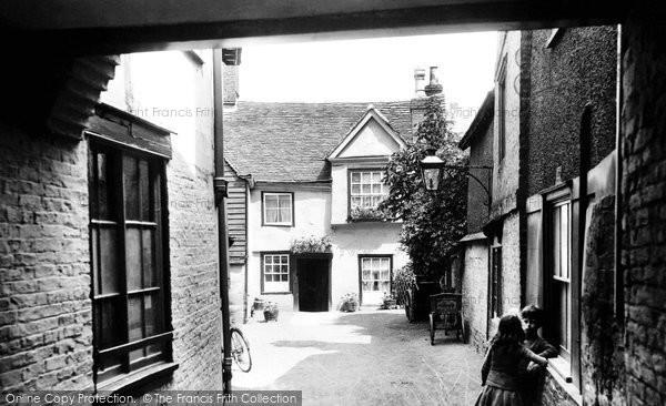 Photo of Cambridge, 1914